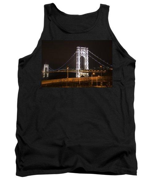 George Washington Bridge On President's Day Tank Top