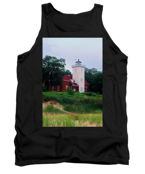 Tank Top featuring the photograph 40 Mile Light by Daniel Thompson