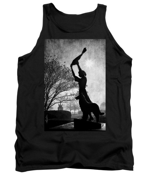 44 Years Of Waving - Black And White Tank Top