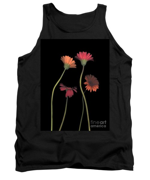 4daisies On Stems Tank Top by Heather Kirk