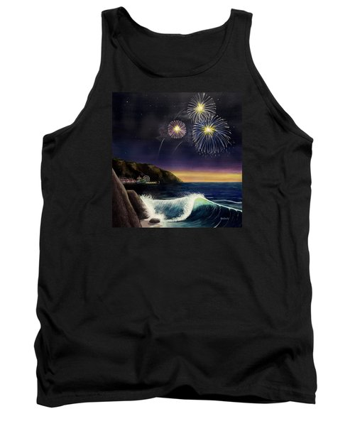 4th On The Shore Tank Top by Jack Malloch