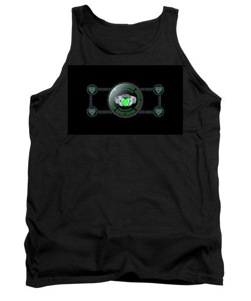 Celtic Claddagh Ring  Tank Top