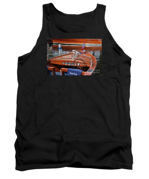 Chris Craft Sportsman On Lake Geneva Tank Top