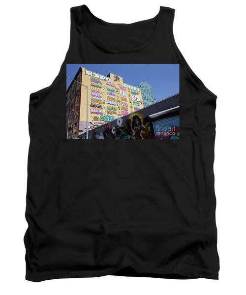 5 Pointz Graffiti Art 2 Tank Top