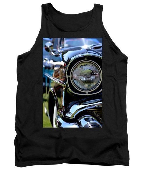 Tank Top featuring the photograph 50's Chevy by Dean Ferreira