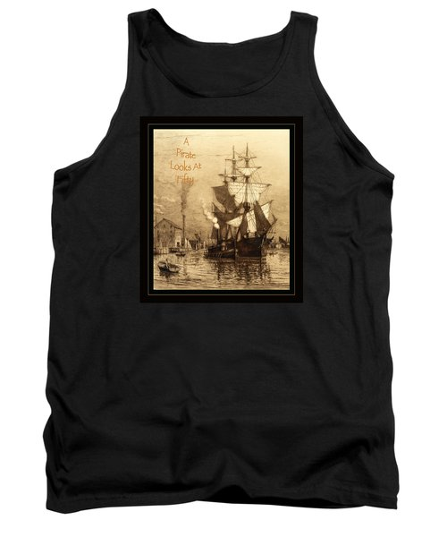 A Pirate Looks At Fifty Tank Top by John Stephens