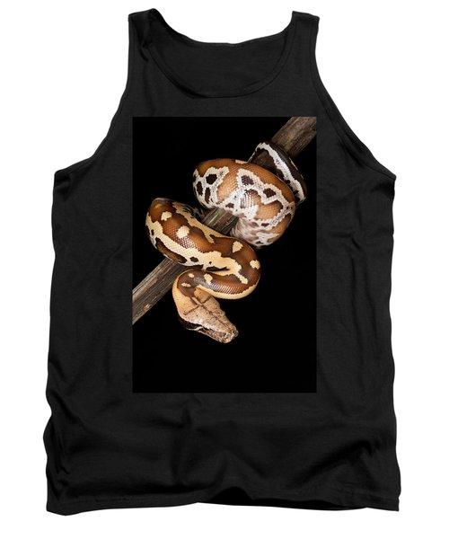 Blood Python Python Brongersmai Tank Top by David Kenny