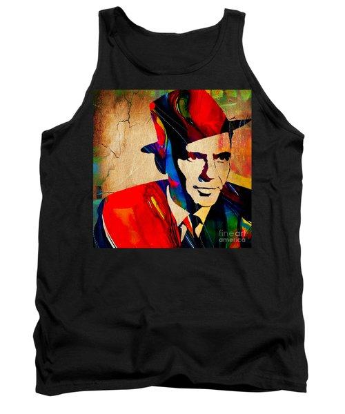 Frank Sinatra Art Tank Top