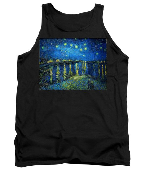 Starry Night Over The Rhone Tank Top
