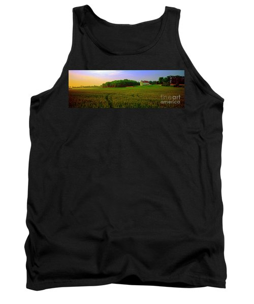 Conley Road, Spring, Field, Barn   Tank Top