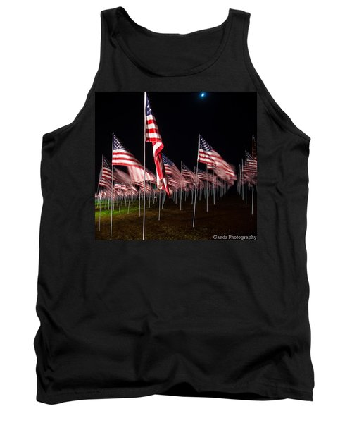 9-11 Flags Tank Top