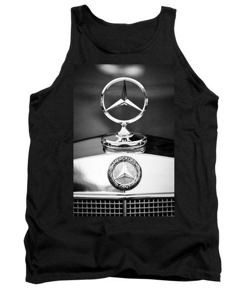 Mercedes-benz Hood Ornament Tank Top