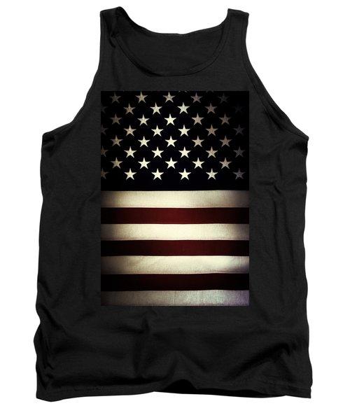 American Flag 60 Tank Top