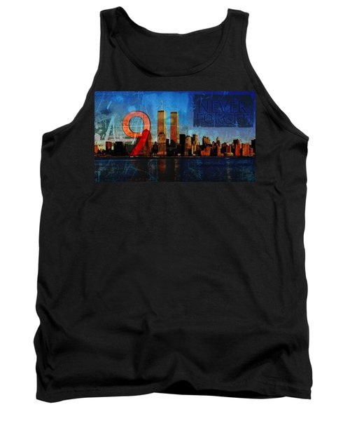 911 Never Forget Tank Top