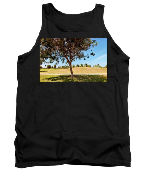 Tank Top featuring the photograph 96 Degrees In Da Shade by Amar Sheow