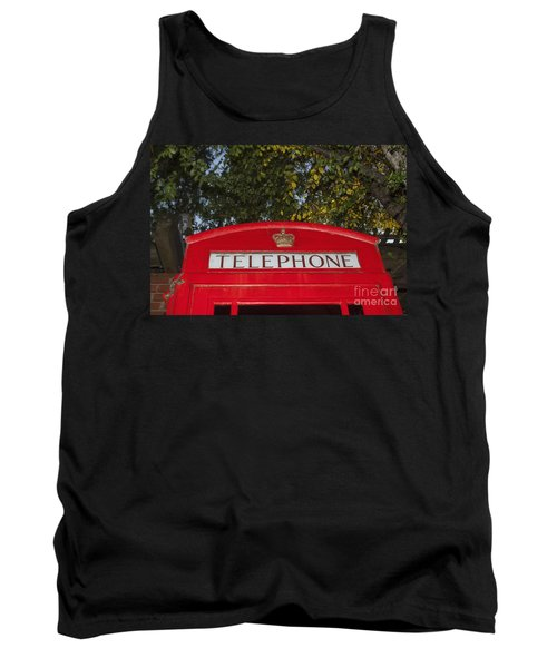 A British Phone Box Tank Top