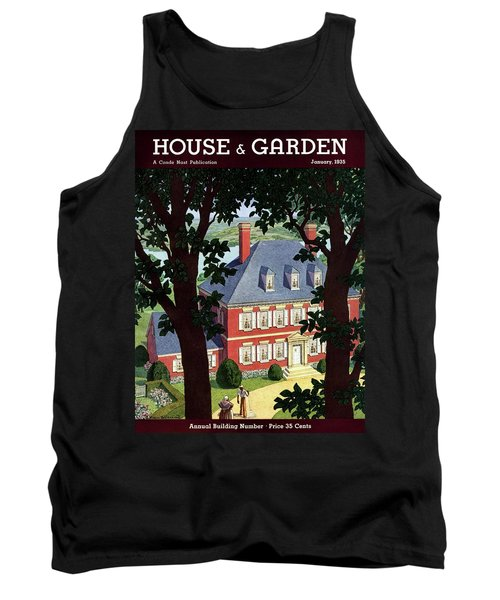 A Colonial Manor House Tank Top