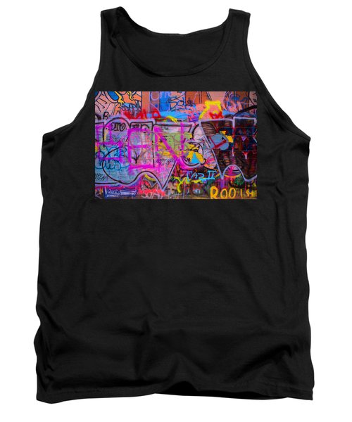 A Colourful Wall. Tank Top