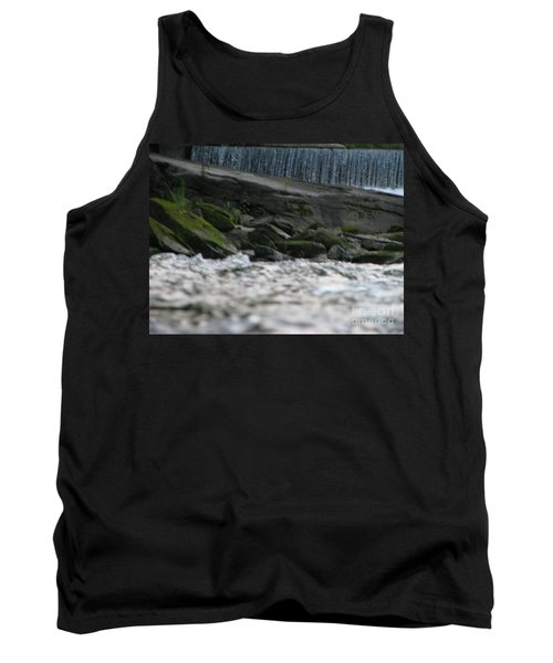 Tank Top featuring the photograph A Day At The River by Michael Krek