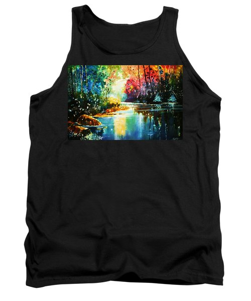 A Glow In The Forest Tank Top