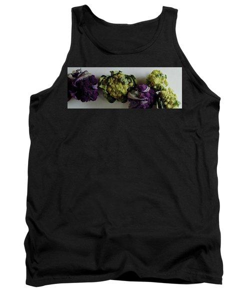 A Group Of Cauliflower Heads Tank Top