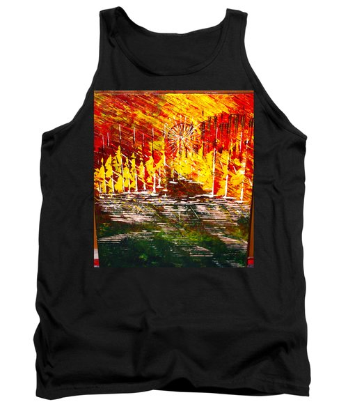 A Hot Summer Day.- Sold Tank Top by George Riney