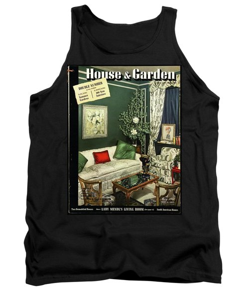 A House And Garden Cover Of Lady Mendl's Sitting Tank Top