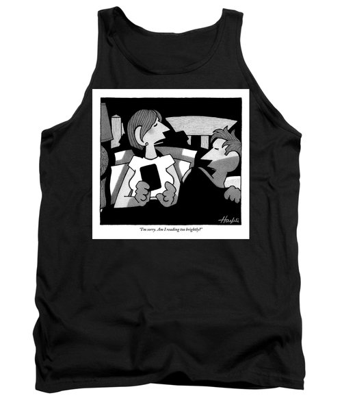 A Husband Is Awoken To His Wife's Late Night Tank Top