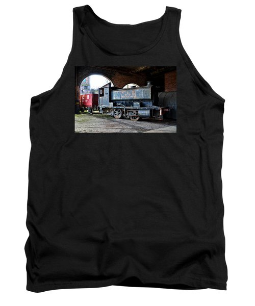 A Locomotive At The Colliery Tank Top by RicardMN Photography