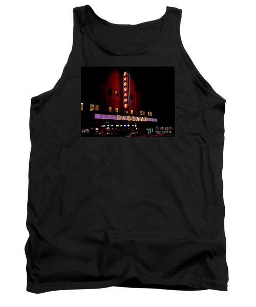 A Night At The Pageant Tank Top