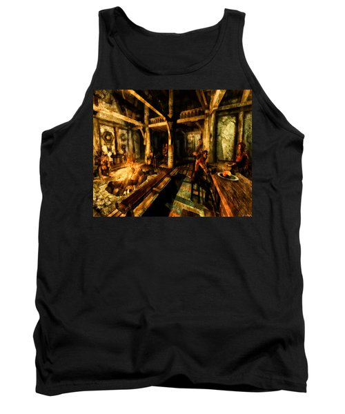 A Place To Relax Tank Top by Joe Misrasi