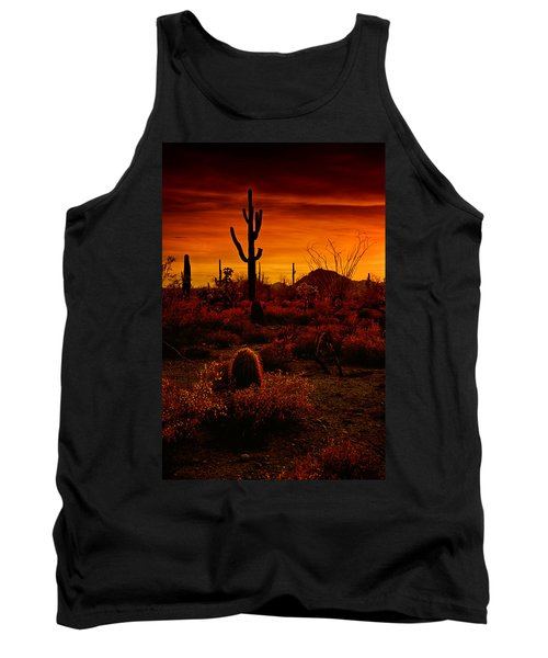 A Red Desert  Tank Top