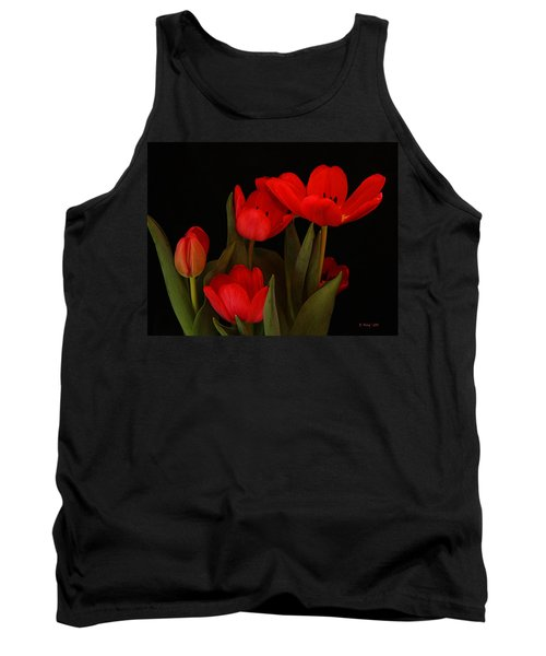 A Red Tulip Day Tank Top