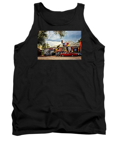 A Ride On Route 66 Tank Top by Tricia Marchlik