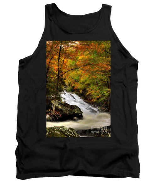 A River Runs Through It Tank Top by Michael Eingle