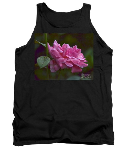 Tank Top featuring the photograph A Rose Is A Rose by Carol  Bradley