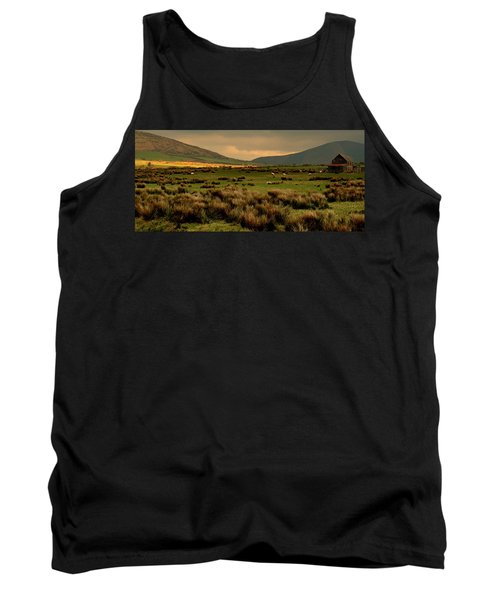 Tank Top featuring the photograph A Spot Of Sunshine by Barbara Walsh