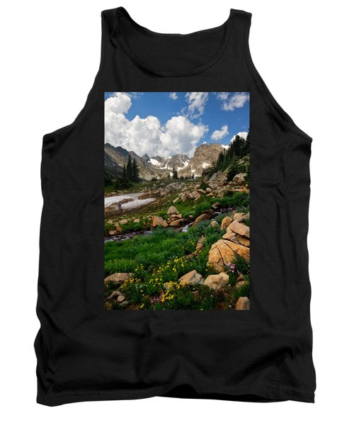 Tank Top featuring the photograph A Stream Runs Through It by Ronda Kimbrow