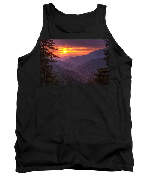 A View At Sunset Tank Top