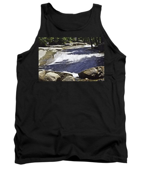 Tank Top featuring the photograph A Water Slide by Brian Williamson