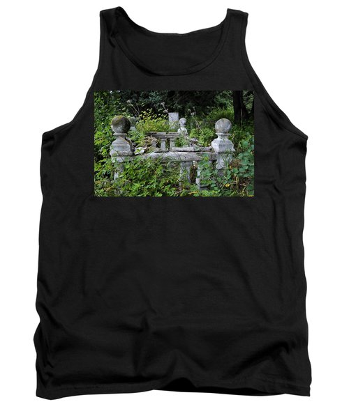 Tank Top featuring the photograph Abandoned Cemetery 2 by Cathy Mahnke