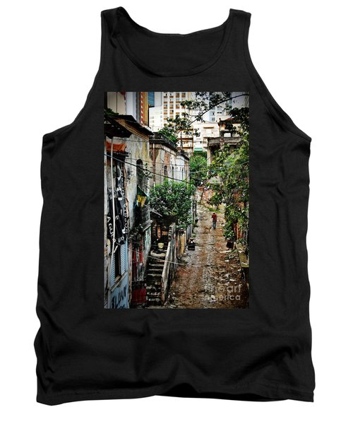 Abandoned Place In Sao Paulo Tank Top