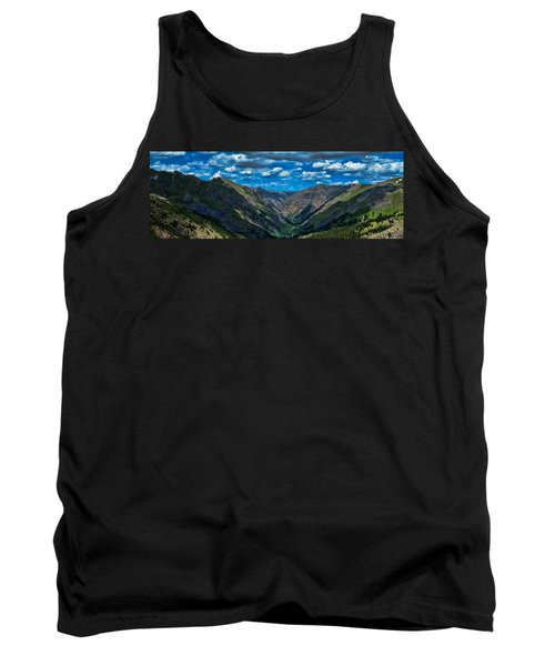 Tank Top featuring the photograph Above It All by Don Schwartz
