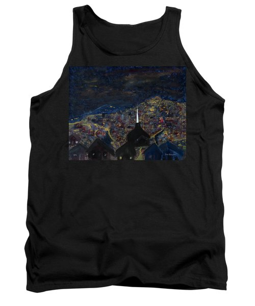 Above The City At Night Tank Top