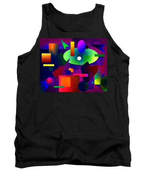 Abstract 74 Tank Top by Timothy Bulone