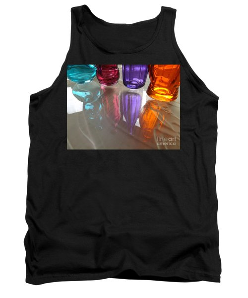 Abstract Reflections #4 Tank Top