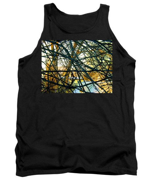 Abstract Tree Tank Top