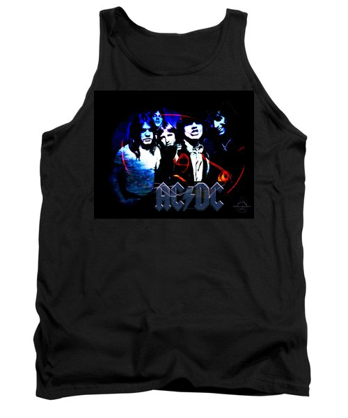 Ac/dc - Rock Tank Top