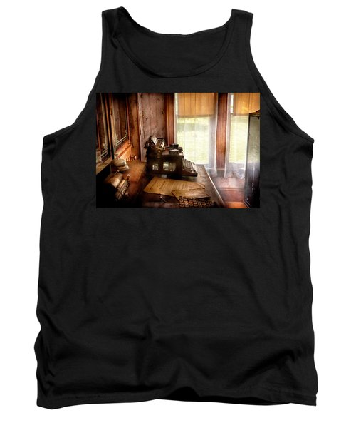 Accountant - My Little Office  Tank Top