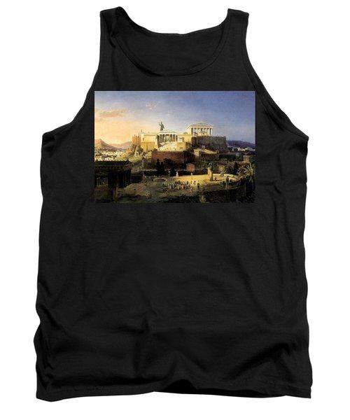 Acropolis Of Athens Tank Top